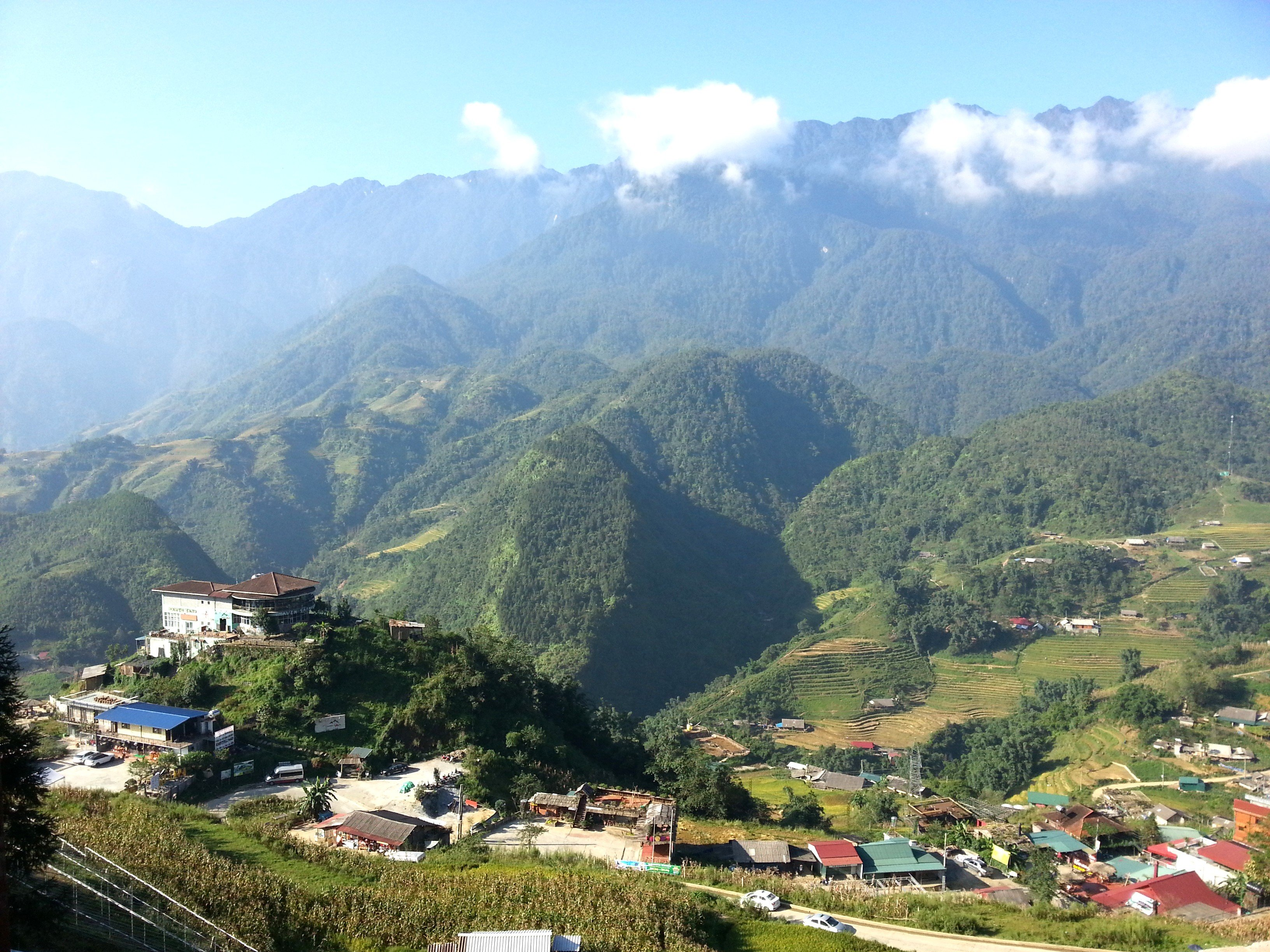 Sapa is 1 hour away from Lao Cai Railway Station