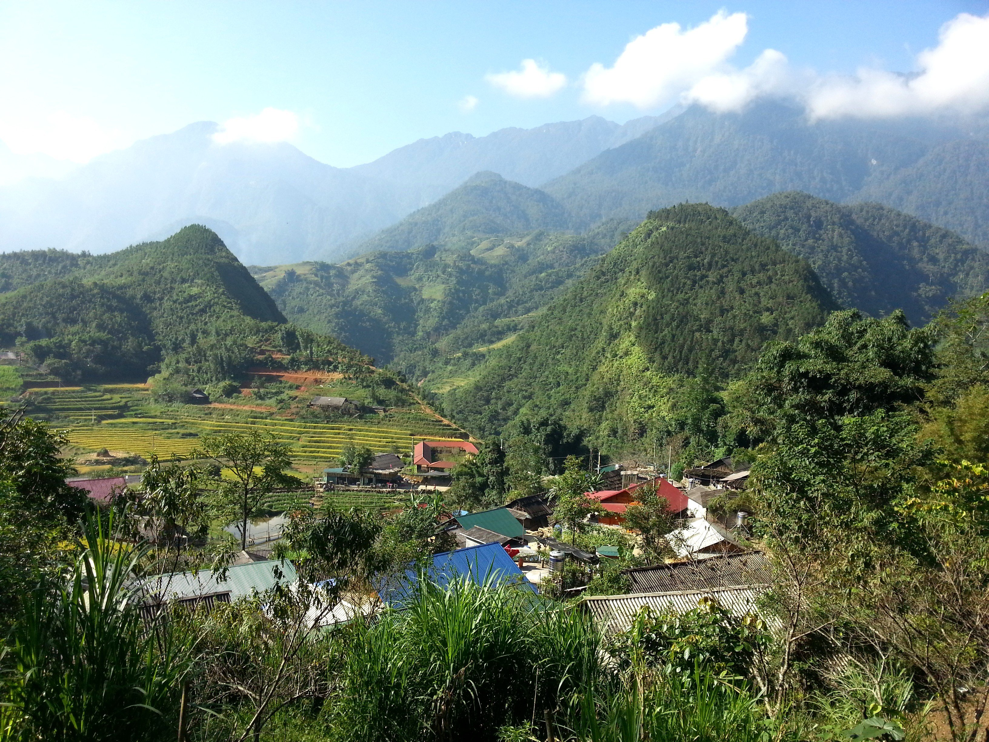 Sapa is famous for its scenery