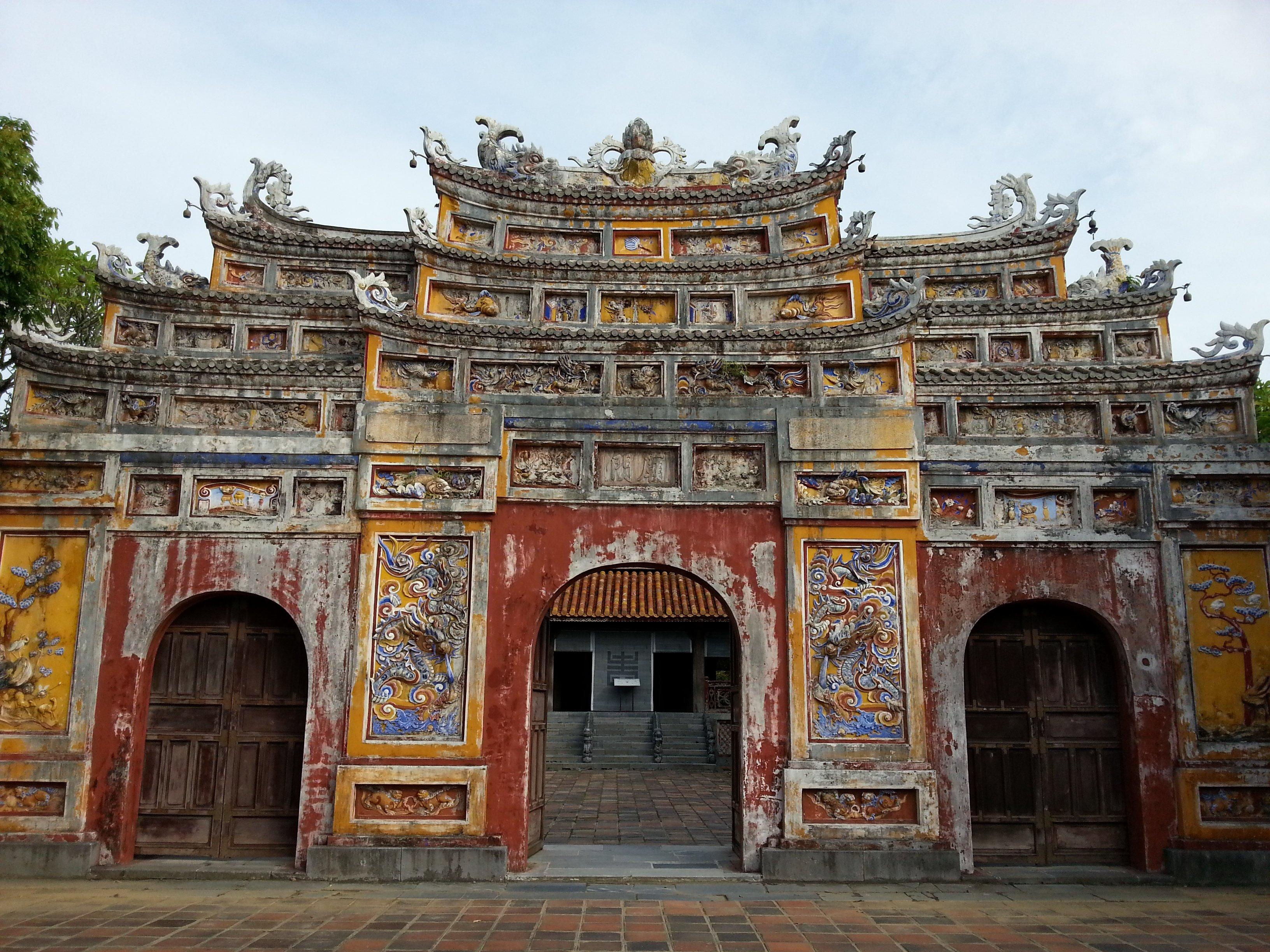 Mieu Mon gate , Imperial Citadel, Hue