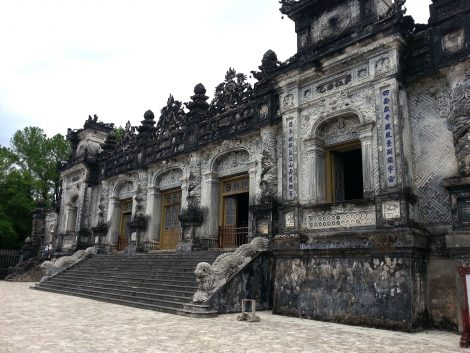 Tomb of Emperor Khai Dinh in Hue