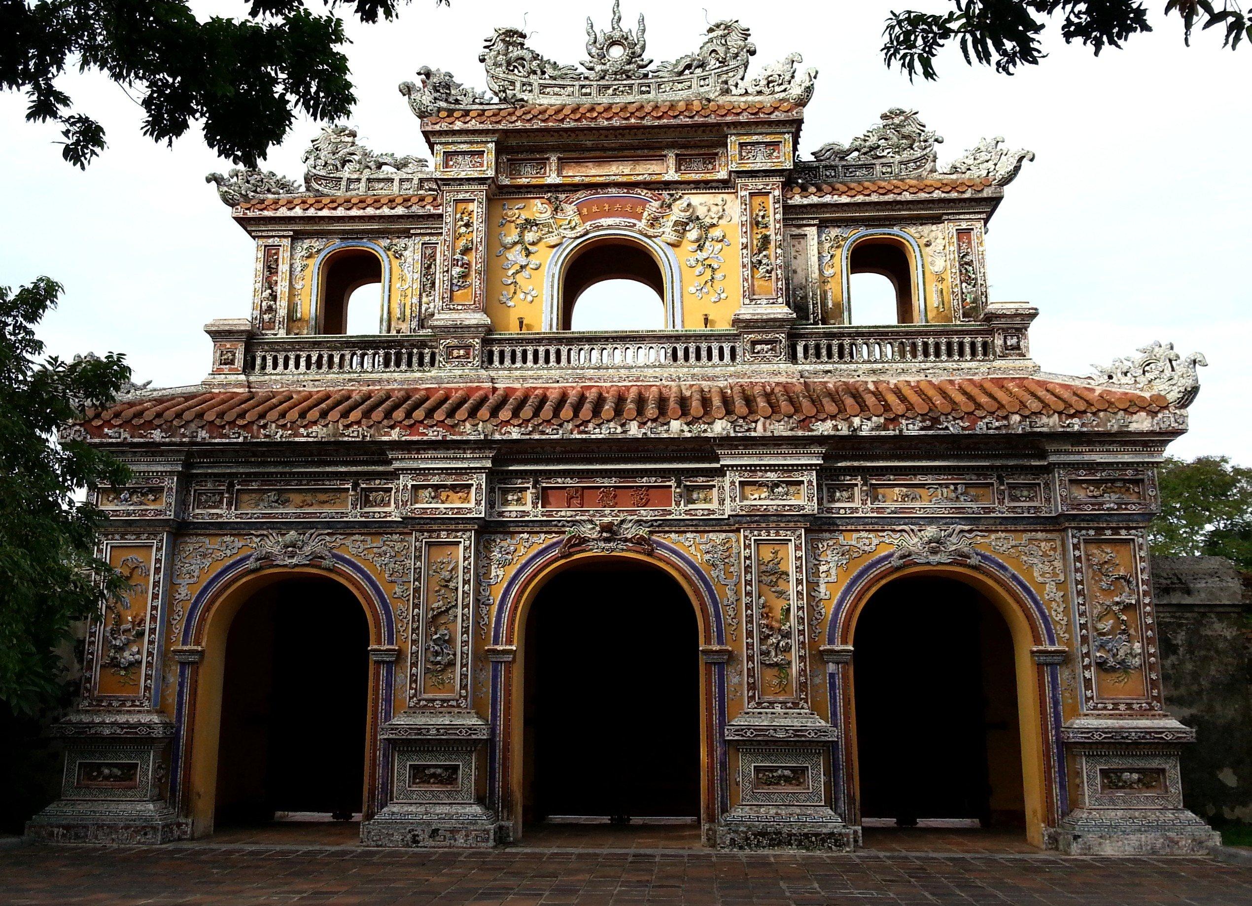 Hien Nhan Gate in Hue's Imperial Citadel