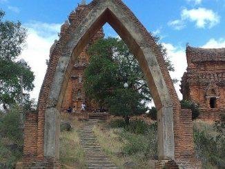 Po Klong Garai temple near Tap Cham