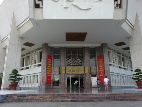 Ho Chi Minh Museum in Ha Noi