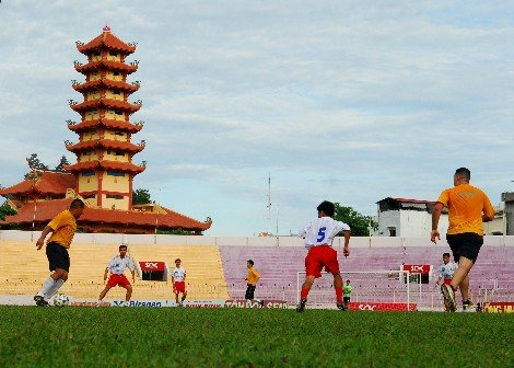 Qui Nhon football stadium