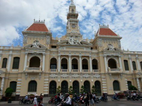 City Hall in Saigon