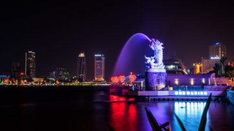Dragon Fountain in Da Nang