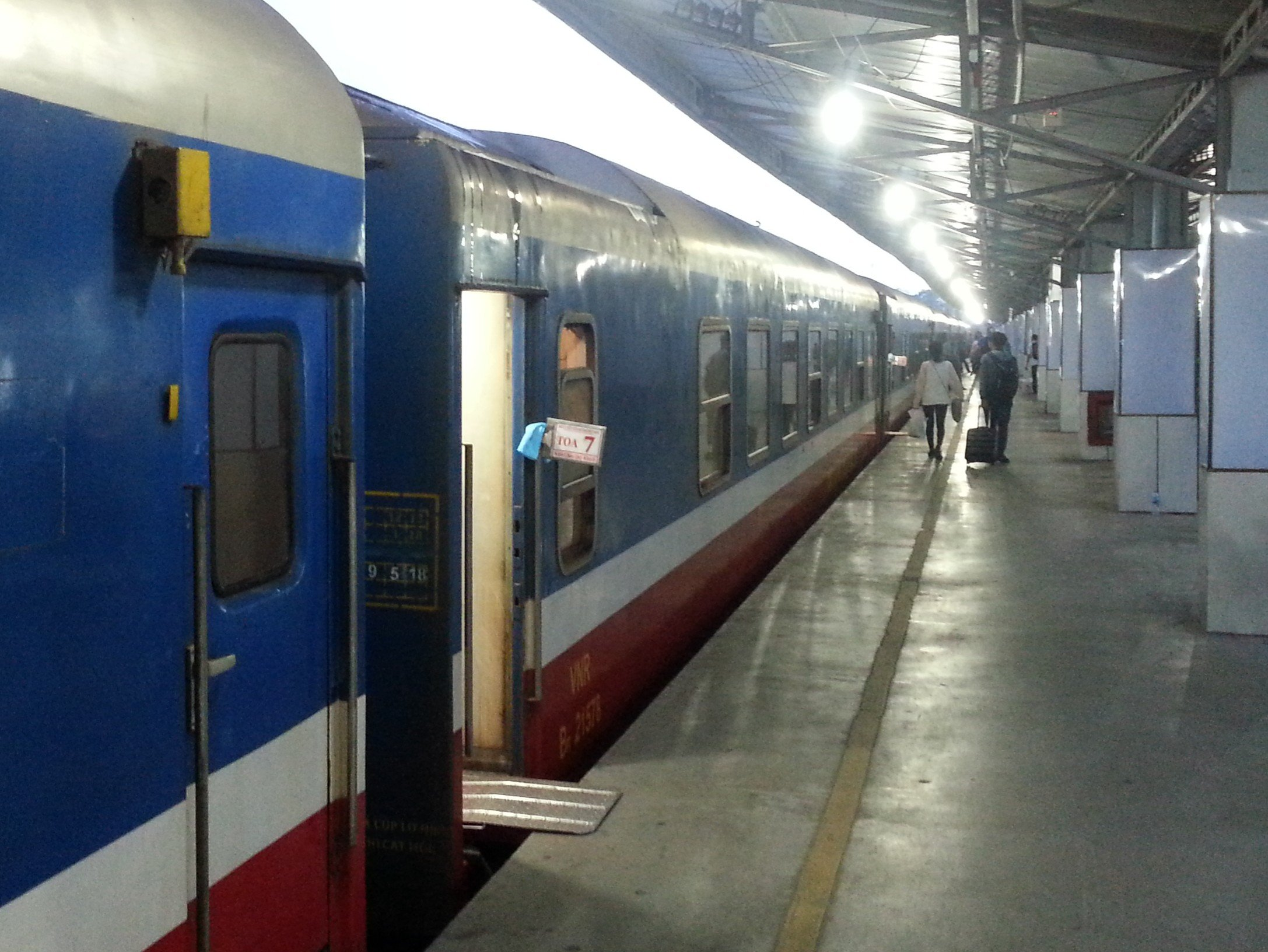 Platform 1 at Saigon Railway Station