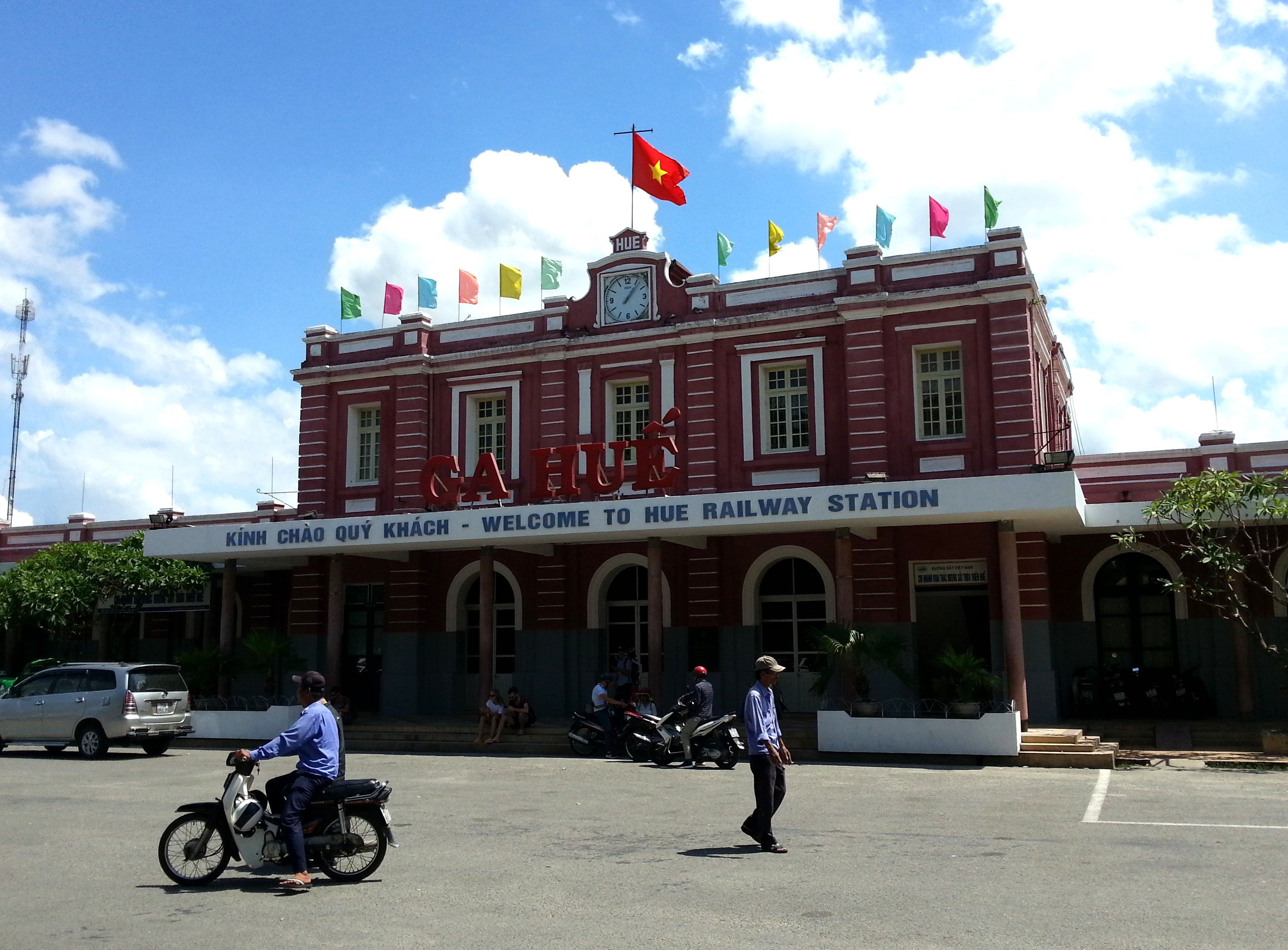 Front of Hue Railway Station