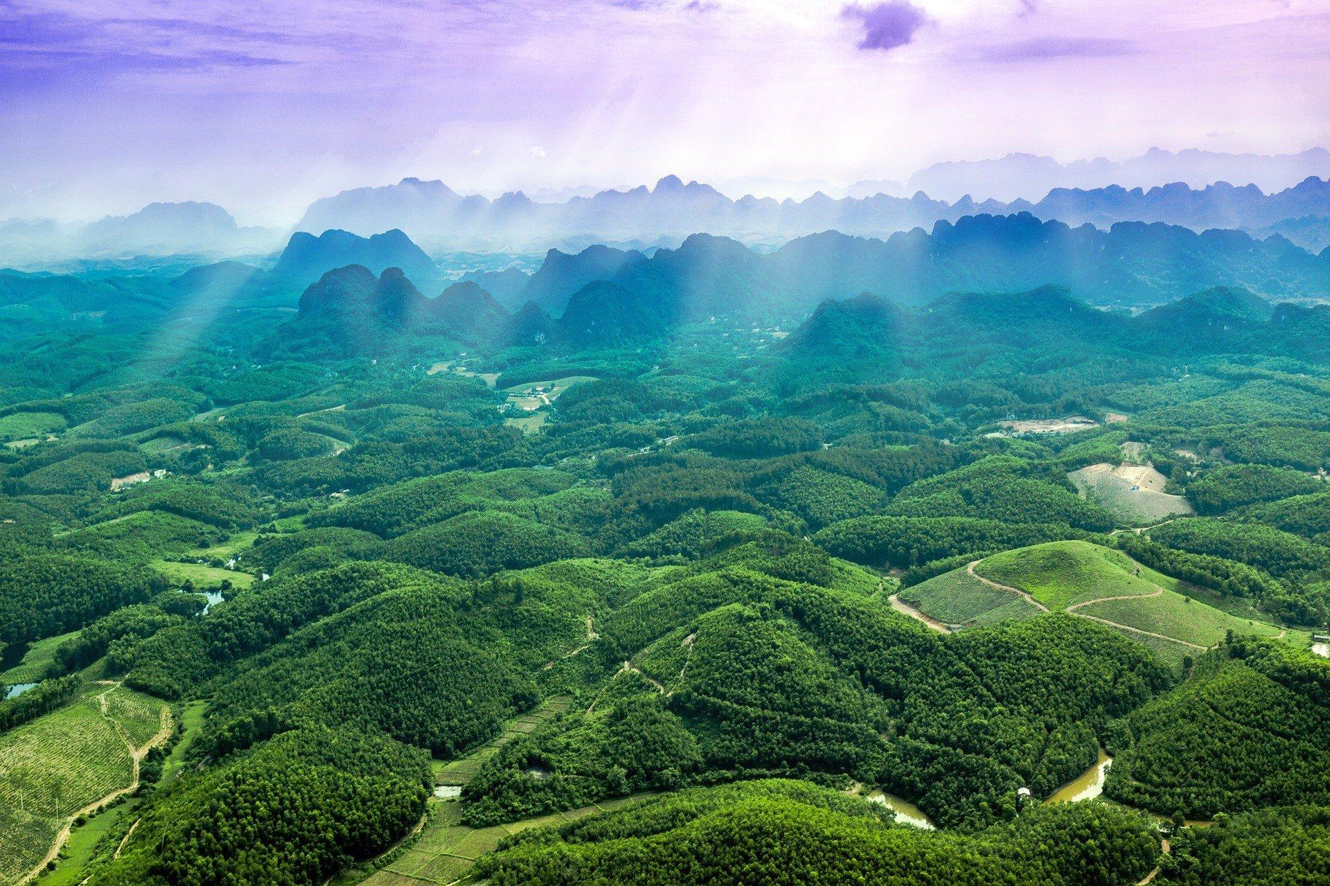 Scenery in Ninh Binh Province