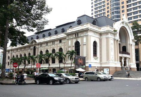 Saigon Opera House in Ho Chi Minh City