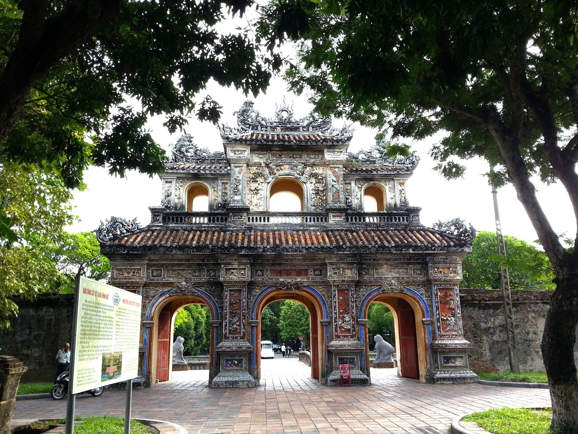 Gate at the Imperial Citadel in Hue
