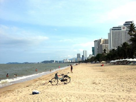 Tran Phu Beach in Nha Trang