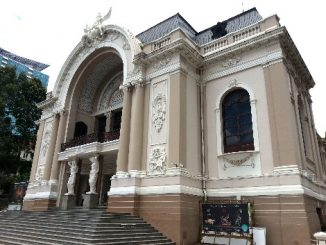 Saigon Opera House in Ho Chi Minh City