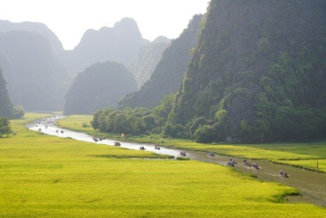 Tam Coc Bich Dong in Ninh Binh Province