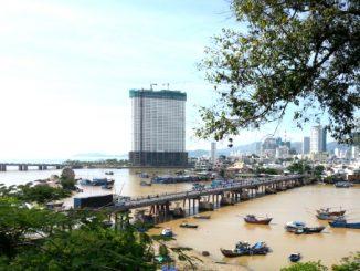 Tran Phu Bridge in Nha Trang