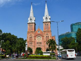 Saigon Notre-Dame Cathedral in Ho Chi Minh City