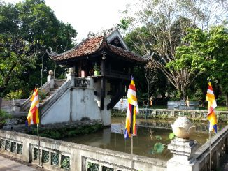 The One Pillar Pagoda in Hanoi