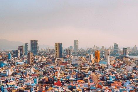 View across Da Nang City